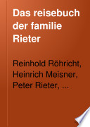 Das Reisebuch der Familie Rieter