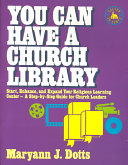 You Can Have a Church Library