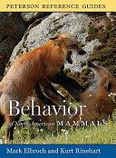 Behavior of North American Mammals