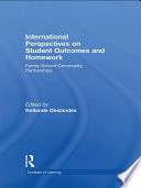 International Perspectives on Student Outcomes and Homework