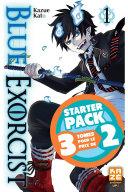 Blue Exorcist - Starter Pack - T1 à 3