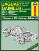 Jaguar Daimler 12 cylinder Owners Workshop Manual