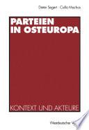 Parteien in Osteuropa