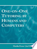 One on One Tutoring by Humans and Computers