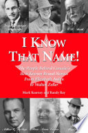 I Know That Name