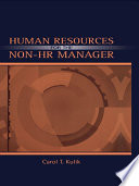 Human Resources for the Non HR Manager