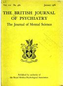 The British Journal of Psychiatry