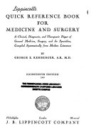 Lippincott s Quick Reference Book for Medicine and Surgery