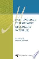 Multilinguisme et traitement des langues naturelles