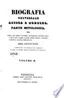 Biografia universale antica e moderna