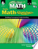 guided math daily math stretches levels 6 8