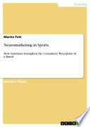 Neuromarketing in Sports