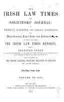 download ebook the irish law times and solicitors\' journal pdf epub