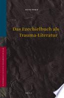 Das Ezechielbuch als Trauma-Literatur