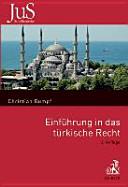 Einführung in das türkische Recht