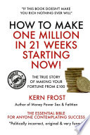 How To Make A Million In 21 Weeks Starting Now book