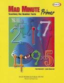 Mad Minute Primer Grades 1 3 book