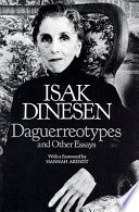 Daguerreotypes and Other Essays