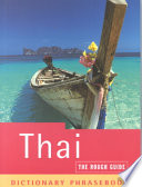 Rough Guide to Thai Dictionary Phrasebook 2