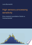 High Sensory Processing Sensitivity