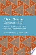 Ghent Planning Congress 1913
