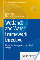 Wetlands and Water Framework Directive