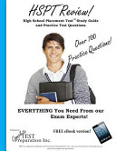 HSPT Review  High School Placement Test Study Guide and Practice Test Questions