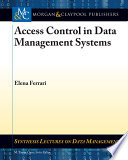 Access Control in Data Management Systems