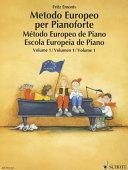 Metodo europeo per pianoforte  Ediz  multilingue  Per la Scuola media