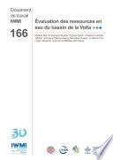 Evaluation des ressources en eau du bassin de la Volta  In French