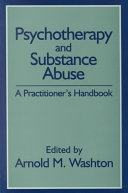 Psychotherapy And Substance Abuse