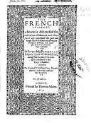 download ebook the french academie, wherein is discoursed the institution of maners. ... newly translated into english by t. b. i.e. thomas bowes? or thomas beard? pdf epub