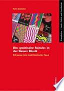 """Die """"polnische Schule"""" in der Neuen Musik"""