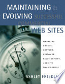 Maintaining   Evolving Successful Commercial Web Sites