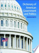 Dictionary of American Government and Politics