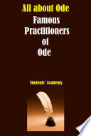 All about Ode-Famous Practitioners of Ode