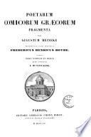 Poetarum comicorum Graecorum fragmenta