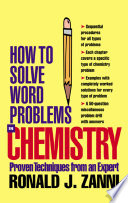 How to Solve Word Problems in Chemistry