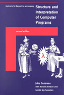 Instructor s Manual to Accompany Structure and Interpretation of Computer Programs