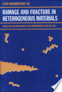 Damage and Fracture of Heterogeneous Materials