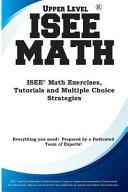 ISEE Upper Level Math