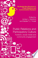 Public Relations and Participatory Culture