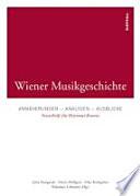 Wiener Musikgeschichte