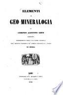 Elementi di Geo Mineralogia