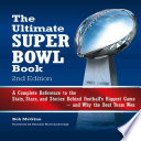 The Ultimate Super Bowl Book Forty Six Super Bowl Games And Offers Lists