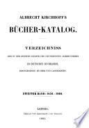 Bücher-Katalog