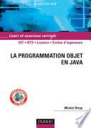 La Programmation Objet En Java par Michel Divay