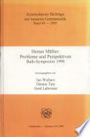 Bath-Symposion 1998