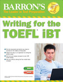 Writing for the TOEFL IBT with MP3 CD  6th Edition