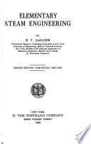 Elementary steam engineering